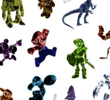 SNES All Stars Sticker