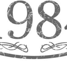 Vintage 1984 Birth Year Sticker