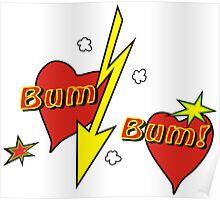 Bum bum comic Poster