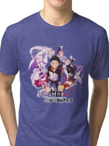 Re:ZERO Starting Life In Another World Tri-blend T-Shirt