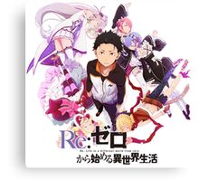 Re:ZERO Starting Life In Another World Canvas Print