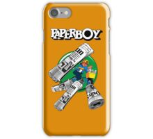 PAPERBOY RETRO ARCADE GAME iPhone Case/Skin