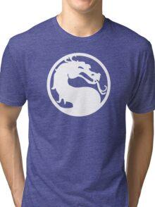 White Dragon Tri-blend T-Shirt
