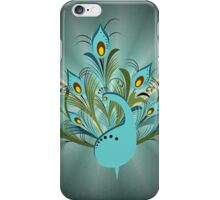 Just a Peacock  iPhone Case/Skin