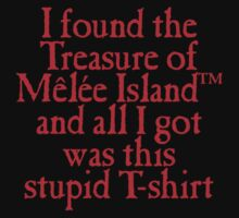Monkey Island - Lost Treasure of Melee Island One Piece - Short Sleeve