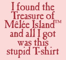 Monkey Island - Lost Treasure of Melee Island One Piece - Long Sleeve