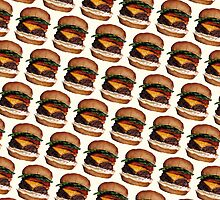 Cheeseburger Pattern by KellyGilleran