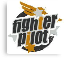 Fighter Pilot Canvas Print