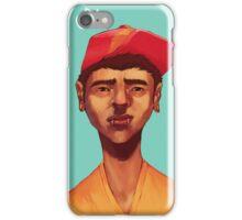 Boy in Blue iPhone Case/Skin