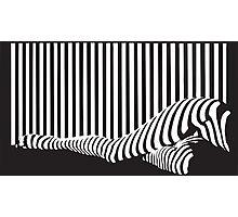 Bar code Photographic Print