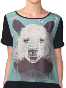 Let's Bear Friends Chiffon Top