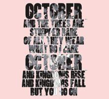 u2 October Kids Tee