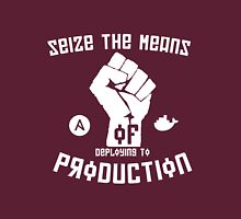 Seize the Means of Deploying to Production Unisex T-Shirt