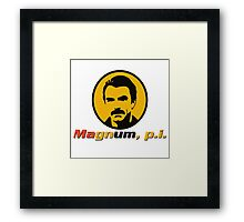 MAGNUM P.I. TV SERIES Framed Print