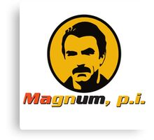 MAGNUM P.I. TV SERIES Canvas Print