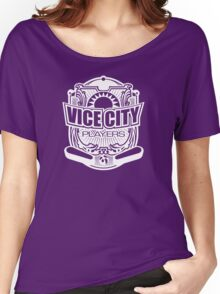 Vice City Players - White Women's Relaxed Fit T-Shirt
