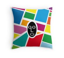 Face&streets Throw Pillow
