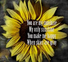 You are my sunshine by Jacqueline Wilson