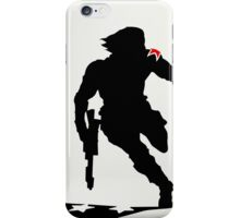 The Winter Solider Silhouette iPhone Case/Skin