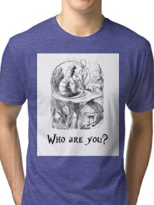 Who are you? Tri-blend T-Shirt