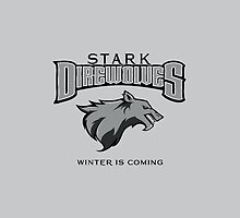 Team Stark Direwolves by dontblinktees