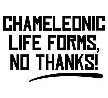 Chameleonic life forms - Light Photographic Print