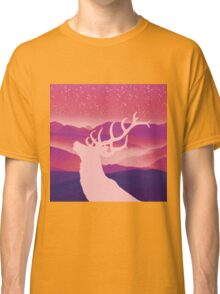 Oh Deer Purple Hills Classic T-Shirt
