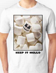 MARSHMELLO KEEP IT MELLO Unisex T-Shirt