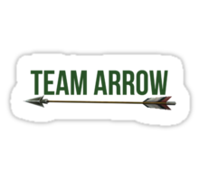 Team Arrow - Variety of Products Sticker