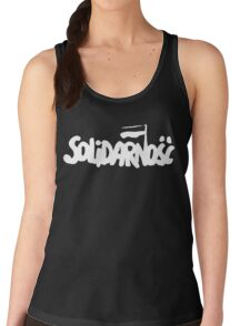 SOLIDARNOSC / SOLIDARITY FROM POLAND (2) Women's Tank Top