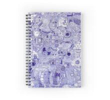 Mother Doodle Spiral Notebook