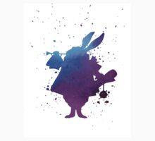 Purple splatter Mr Rabbit Kids Tee