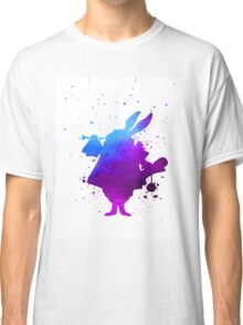Purple splatter Mr Rabbit Classic T-Shirt