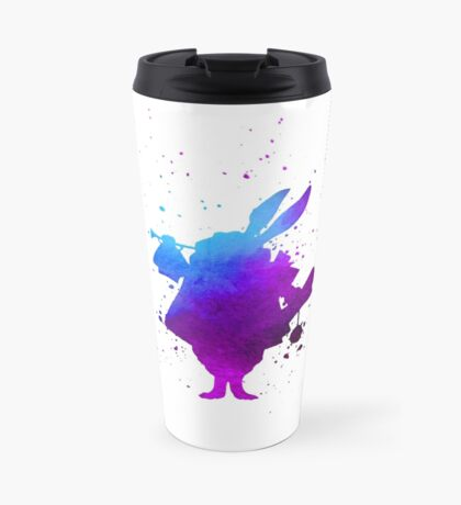 Purple splatter Mr Rabbit Travel Mug