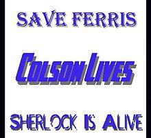 Ferris Colson Sherlock Geek Support by Photoguy350