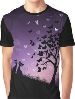'Purple Skies' Graphic T-Shirt