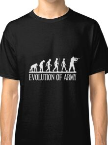 evolution of army Classic T-Shirt