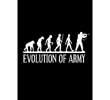 evolution of army Photographic Print