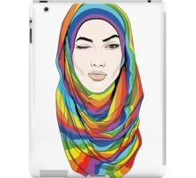 Rainbow Hijab iPad Case/Skin