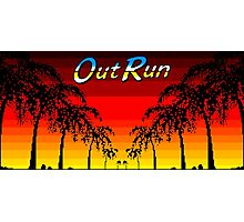 OUT RUN - LAST WAVE Photographic Print