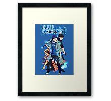 Blue Exorcist - Rin Okumura Framed Print