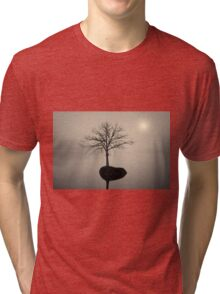 Morning Tranquility Toned Tri-blend T-Shirt