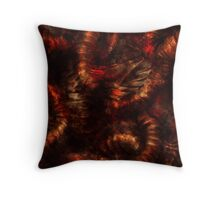 Visions of Hell Throw Pillow