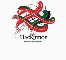 Clan Mackinnon - Prefer your gift on Black/White tell us at info@tangledtartan.com  Unisex T-Shirt