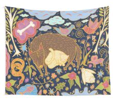 Forest Slumber Wall Tapestry