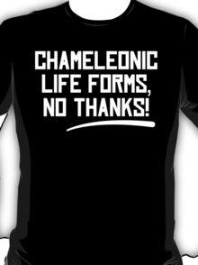 Chameleonic life forms - Dark T-Shirt