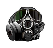 Gas Mask by Byron Stoddard