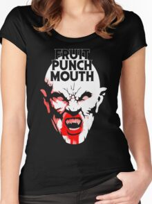 Fruit Punch Mouth Women's Fitted Scoop T-Shirt