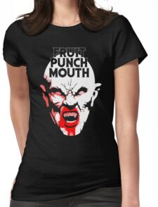 Fruit Punch Mouth Womens Fitted T-Shirt