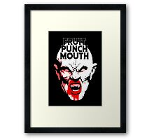 Fruit Punch Mouth Framed Print